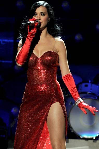 Katy Perry very Jessica Rabbit like.... On my Halloween costume ...