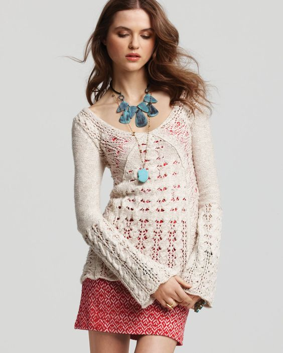 awesome sweater - bloomingdale's