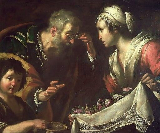The Miracle of St. Zita, by Bernardo Strozzi (1581-1644)