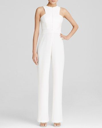 AQ/AQ Jumpsuit - Crane High Neck | Bloomingdale's