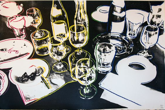 Andy Warhol, After the Party, 1979  Screenprint in colors 21 x 30.5 in (53.34 x 77.47 cm) Edition of 1000
