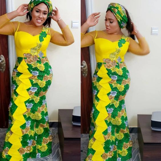 Ladies: see 70+ Latest ankara trends you should try out Ankara styles short gown dresses long gown dresses fashion styles.