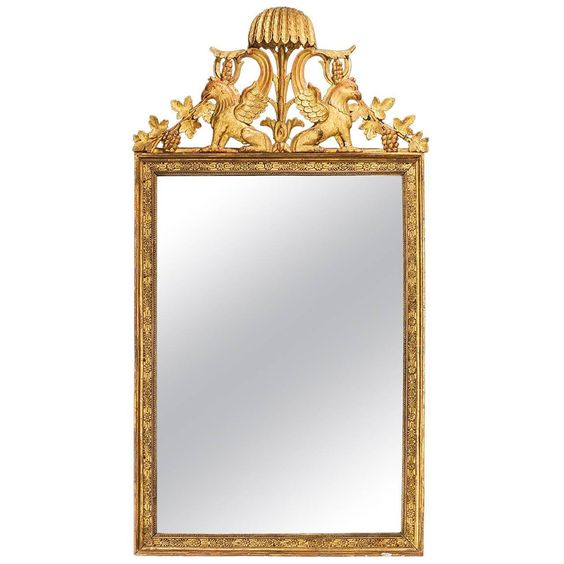 18th Century North European Mirror | From a unique collection of antique and modern wall mirrors at https://www.1stdibs.com/furniture/mirrors/wall-mirrors/