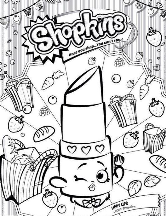 Shopkins Lipstick Coloring Pages Lippy Lips Shopkins Colouring Pages Shopkin Coloring Pages Shopkins