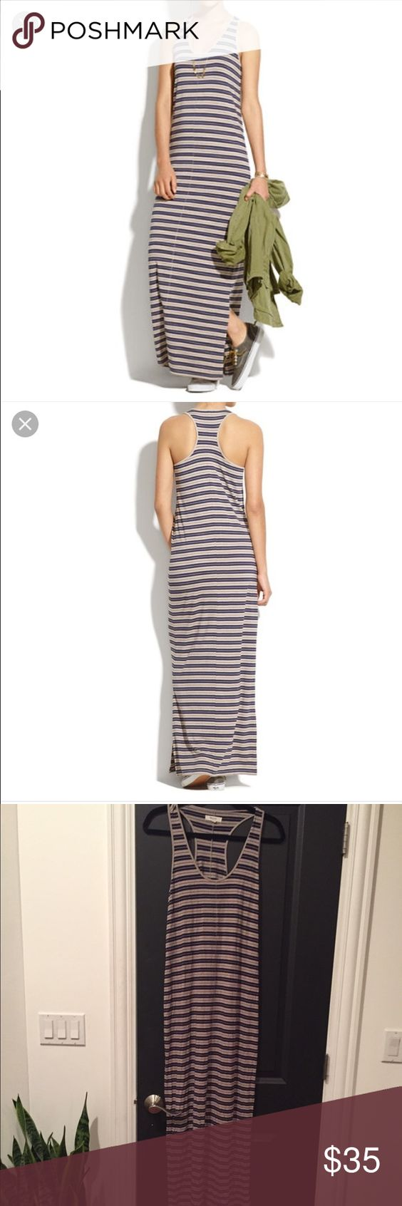 Madewell Striped Maxi Dress Size M Madewell Striped Maxi Dress Size M Racerback. Madewell Dresses Maxi