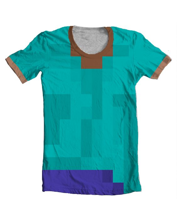 Minecraft shirts and design on pinterest for Mine craft t shirt