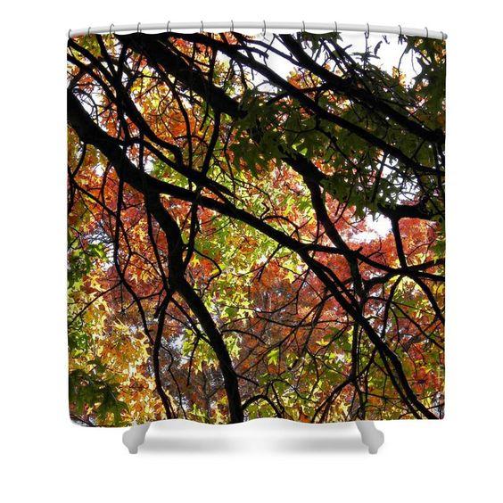 Autumn Canopy Shower Curtain $65 at http://fineartamerica.com ...