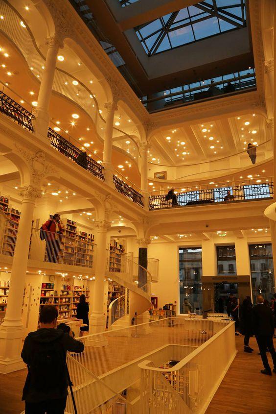 Beautiful new library in Bucharest.  www.BoredPanda.com