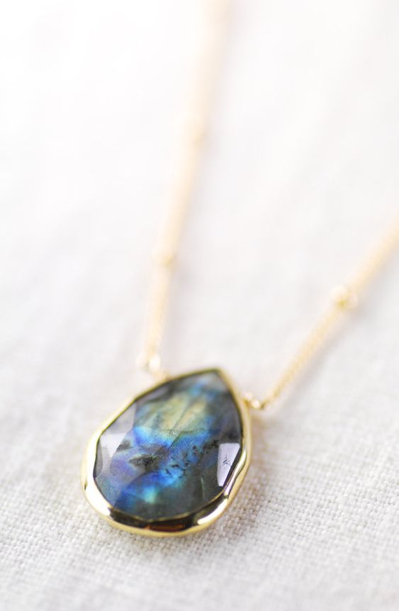 Alohanani necklace - labradorite gold necklace, https://www.etsy.com/listing/159574294 , maui, hawaii kealohajewelry.etsy.com