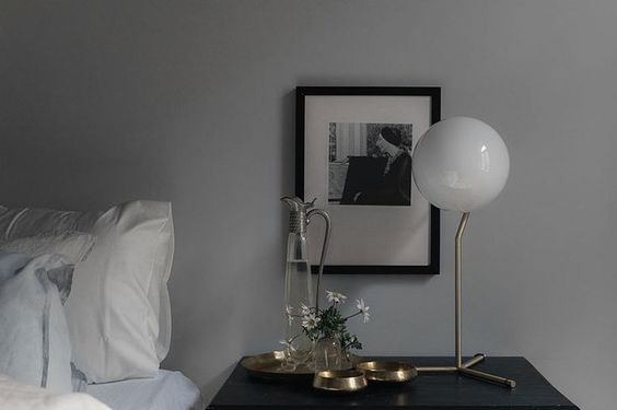 Top 12 table lamps, FLOS IC lamp, via http://www.scandinavianlovesong.com/