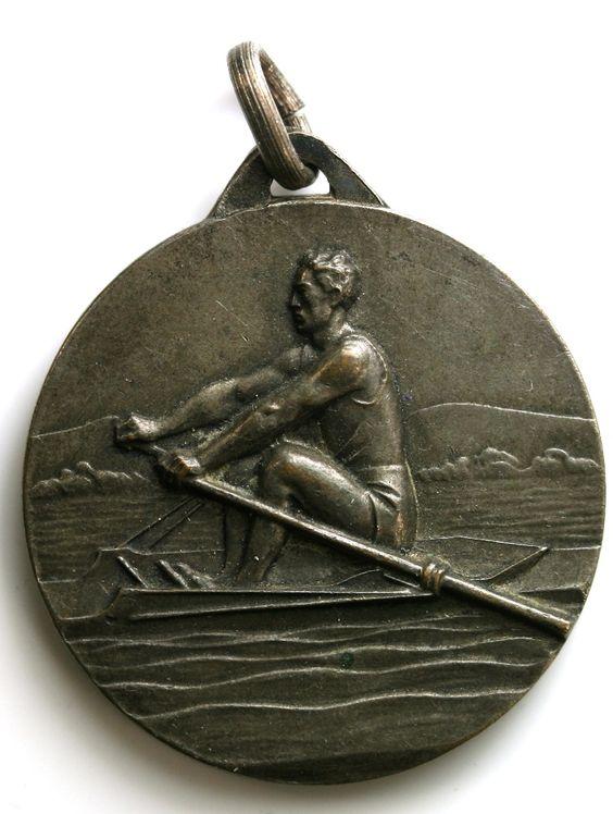 1930s Rowing Medal