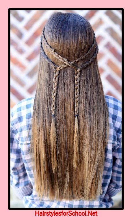 Hairstyles To School For Girls 12 Years Old Girls Hairstyles School Years Little Girl Hairstyles Baby Girl Hairstyles Hair Styles