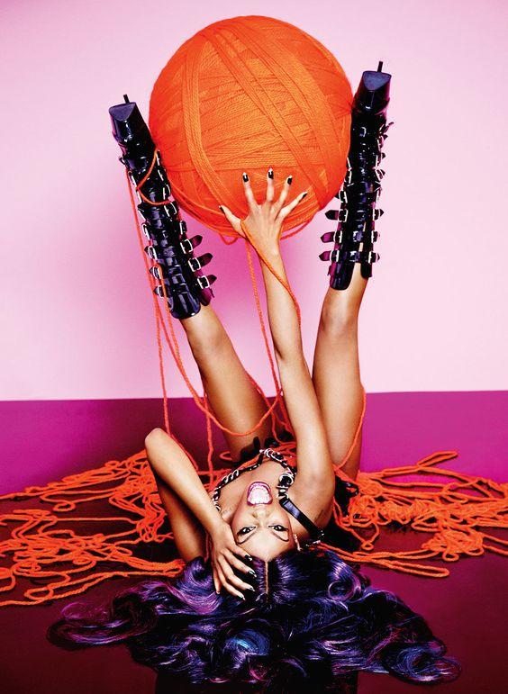 Azealia Banks Playboy April 2015
