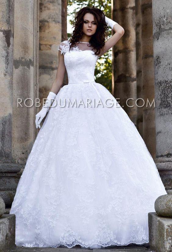 promo no l nouveaut robe de mari e princesse pas cher. Black Bedroom Furniture Sets. Home Design Ideas