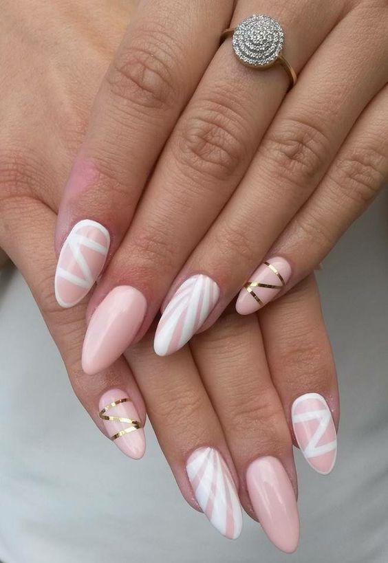 98 Cute Easy Simple Bright Summer Nail Designs Ideas 2019 Koees Blog Pink Nails Gel Nails Summer Nails Colors
