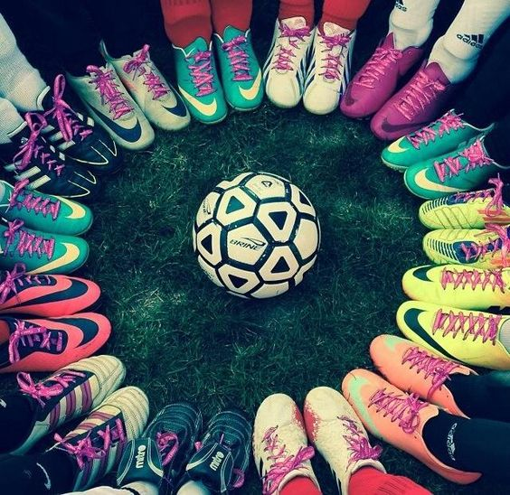 Alicia to have the best football boots every season