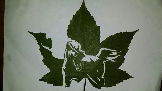 #Leaf cutting  Horse