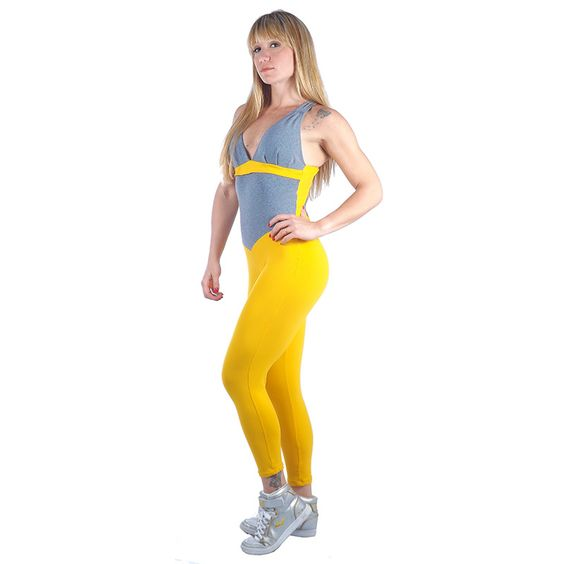 Macacão Fitness Supplex - moda academia fitness shoptodaemforma