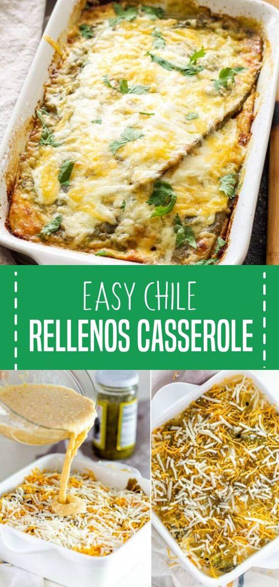EASY CHILE RELLENOS CASSEROLE
