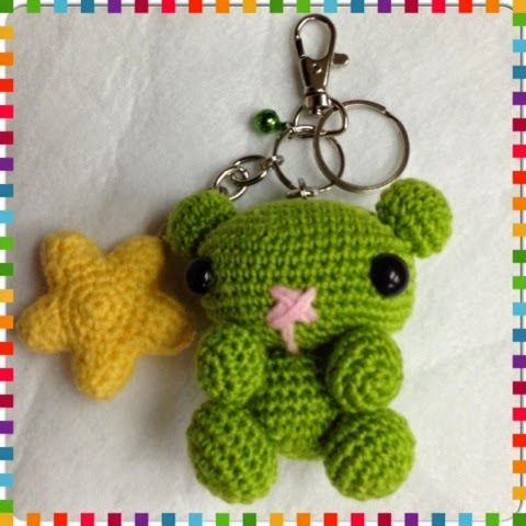 Designed With Passion: The Expression Bears Bag Charms/Keychains