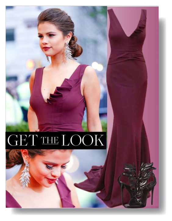 """Get the Look: Met Gala 2016"" by ajspragu02 ❤ liked on Polyvore featuring Giuseppe Zanotti, GetTheLook and MetGala"