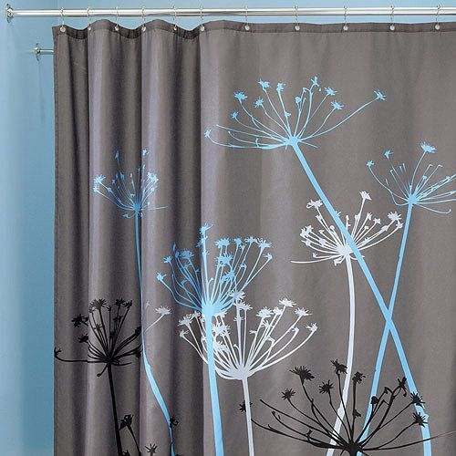 Nice InterDesign Thistle Shower Curtain Walmart Com InterDesign Thistle Shower  Curtain Shelves Walmart And Thistles. Hookless