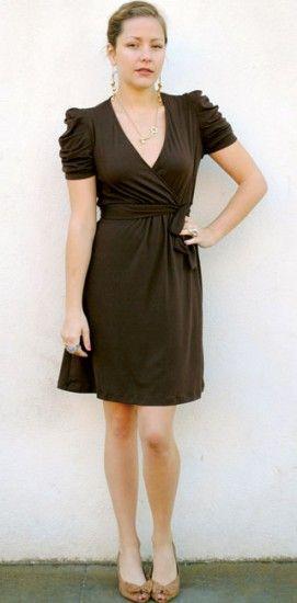 Chocolate Bancroft Dress