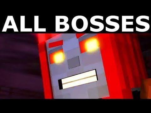 Minecraft Story Mode Season 2 Episode 5 All Bosses All Boss
