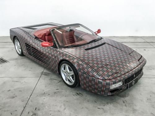 Motori: #Ferrari #512 #TR Garage Italia Customs: il Cavallino col vestito a quadri (link: http://ift.tt/2aKCm5g )
