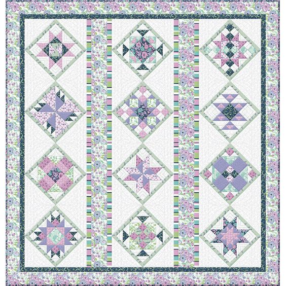 Quiltblocks garden trellis quilt our products quilt for Garden trellis designs quilt patterns