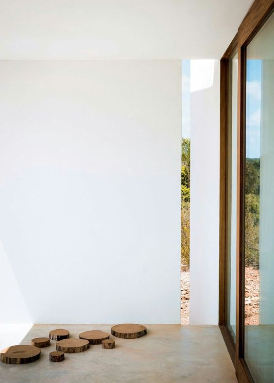 Minimalist outdoor in Formentera
