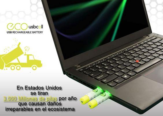 ECO USBCELL pila recargable vía USB, premiada en #CES2016