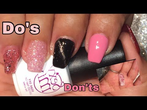 How To Diy Nails At Home Polygel Dos And Donts Nails Hana Blog In 2020 Cotton Candy Nails Gel Nails Diy Nails