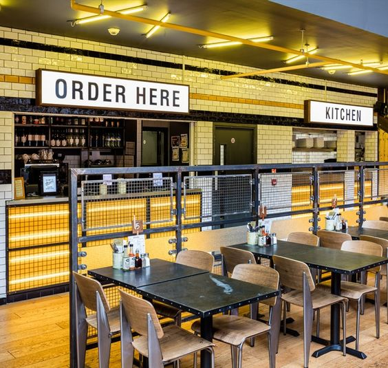 Commercial Lighting Glasgow: Restaurant, Industrial And Retail On Pinterest