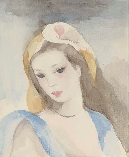 Marie Laurencin 1883 1956 Portrait De Jeune Fille Portrait