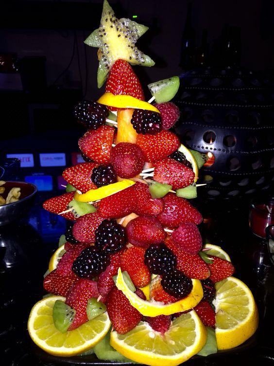 Árbol de frutos rojos! Fácil de hacer