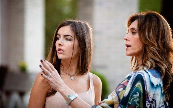 Camilla Belle e Christiane Torloni. Foto: Divulgação