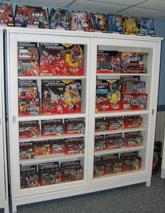 Vntage G1 Transformers collection. Beautiful!