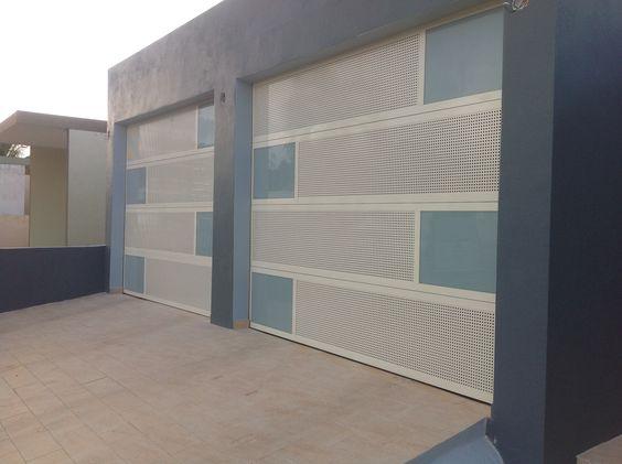 Puertas on pinterest - Puertas para garage ...