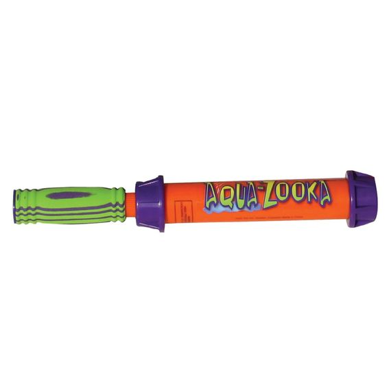 "Aqua Zooka 12"" Barrel - Soak your friends with AQUA ZOOKA! This easy to operate, quick filling water bazooka is constructed of high-impact thermoplastics, and will last for seasons of fun. Simply dip AQUA ZOOKA into the water and pull back on the han"