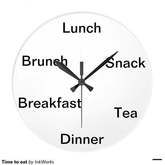 Time to eat wall clocks