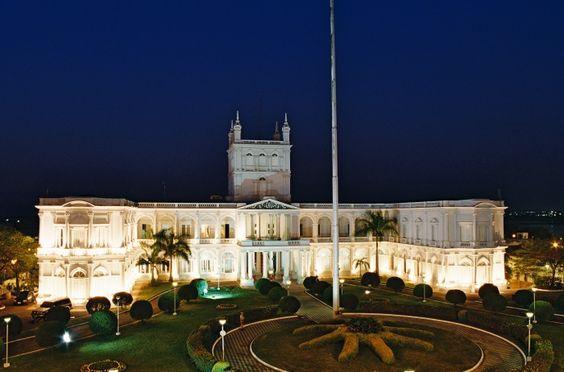 Palácio de Lopez -PARAGUAI