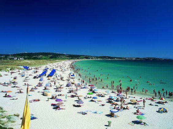 Playa de A Lanzada, Pontevedra ¡Cuantos buenos baños!