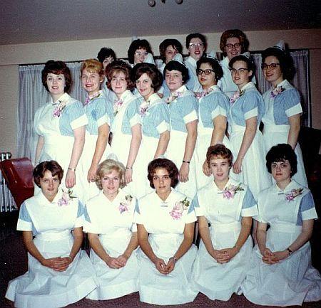 Student Nurses 1964.