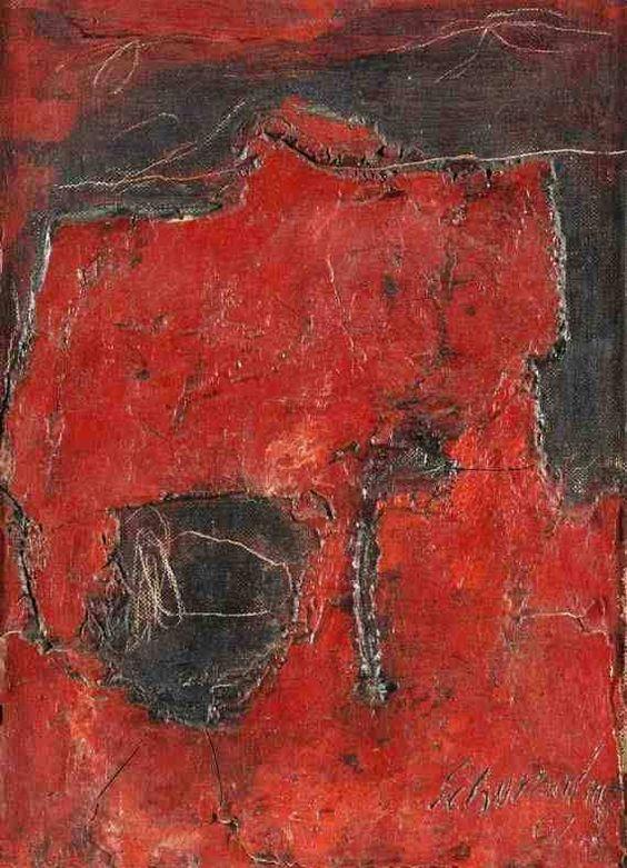 Resultado de imagen para Pinturas de Emil Schumacher