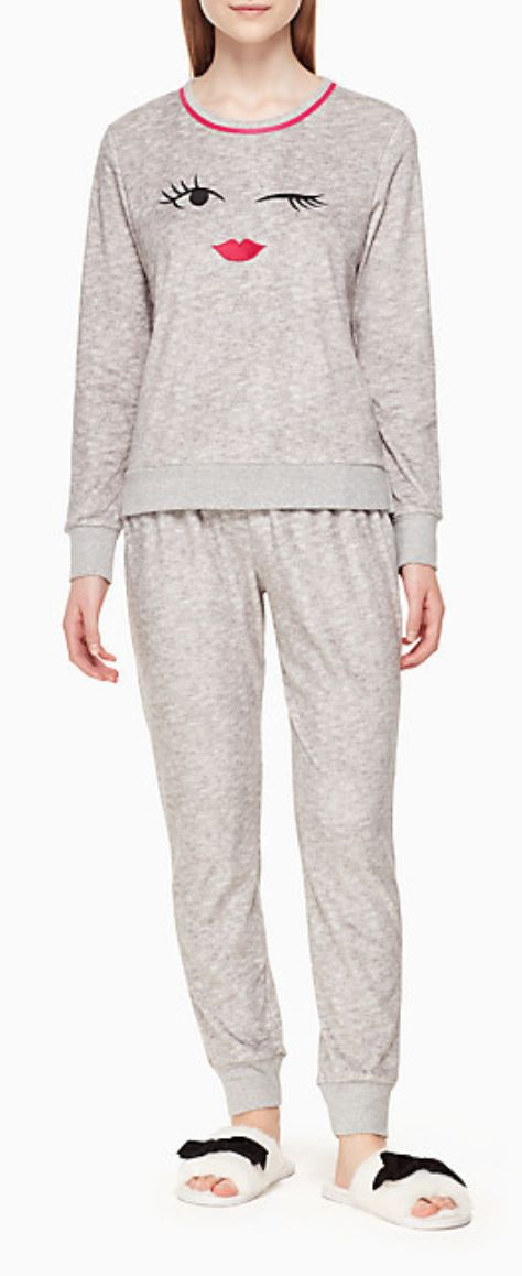 Cute fleece pajamas
