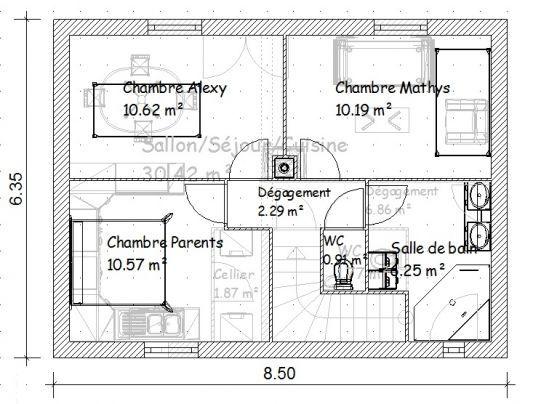 Plan Maison 150m2 Gratuit Tunisie Plan Maison Plan Maison 150m2
