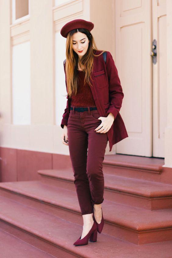 Look monocromático de inverno | FashionCoolture