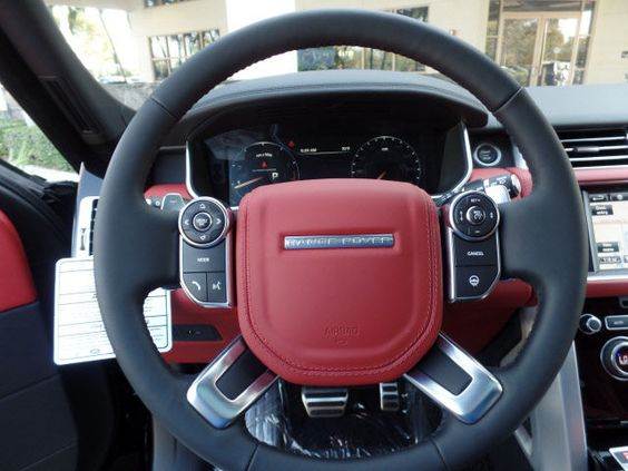 Pimento Red Interior West Palm Beach Fl 2016 Land Rover Range Rover 5 0l V8 Supercharged