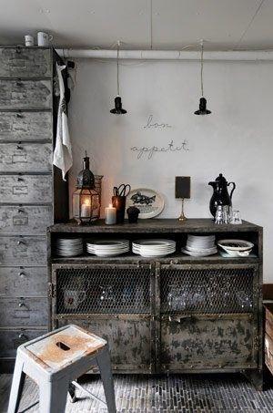 Industrial Style! | We love | Pinterest | Industriel, Meubles et ...